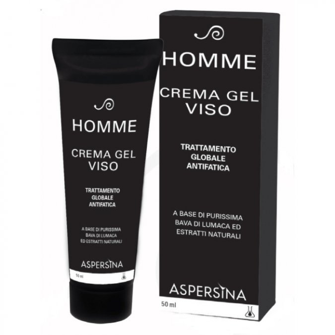 Aspersina Homme Crema Gel Viso 50 ml