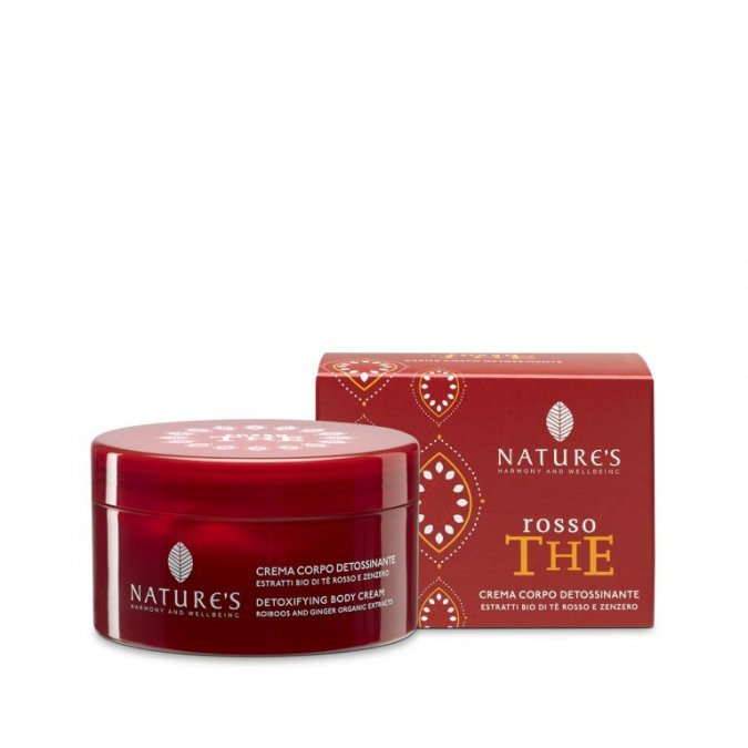 Crema Corpo Detossinante Rosso The 200 ml